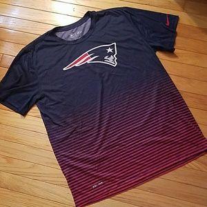 Nike NFL Patriots Dri-fit tshirt